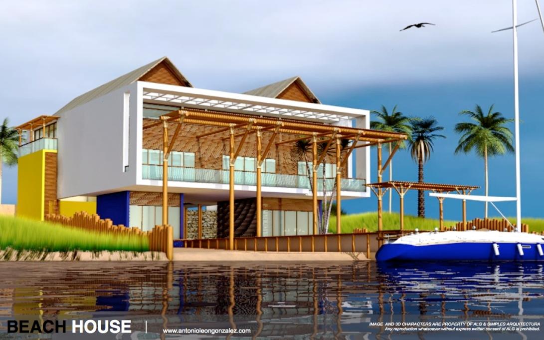 3D [CG WORK] HOUSE.001-001