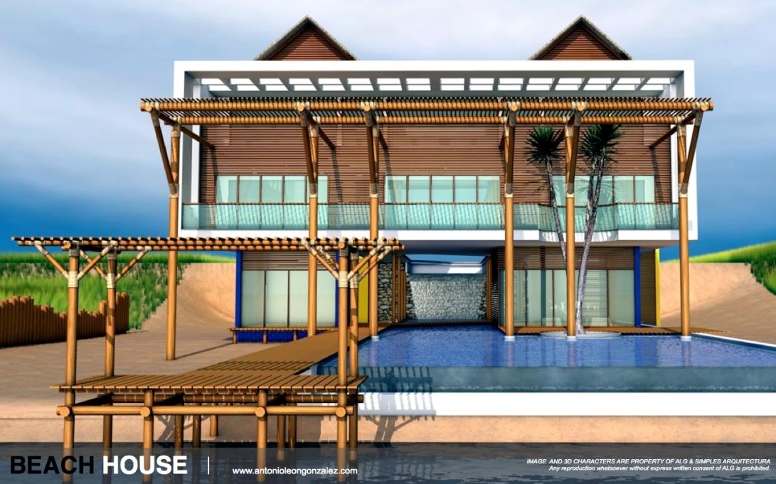 3D [CG WORK] HOUSE.003-001