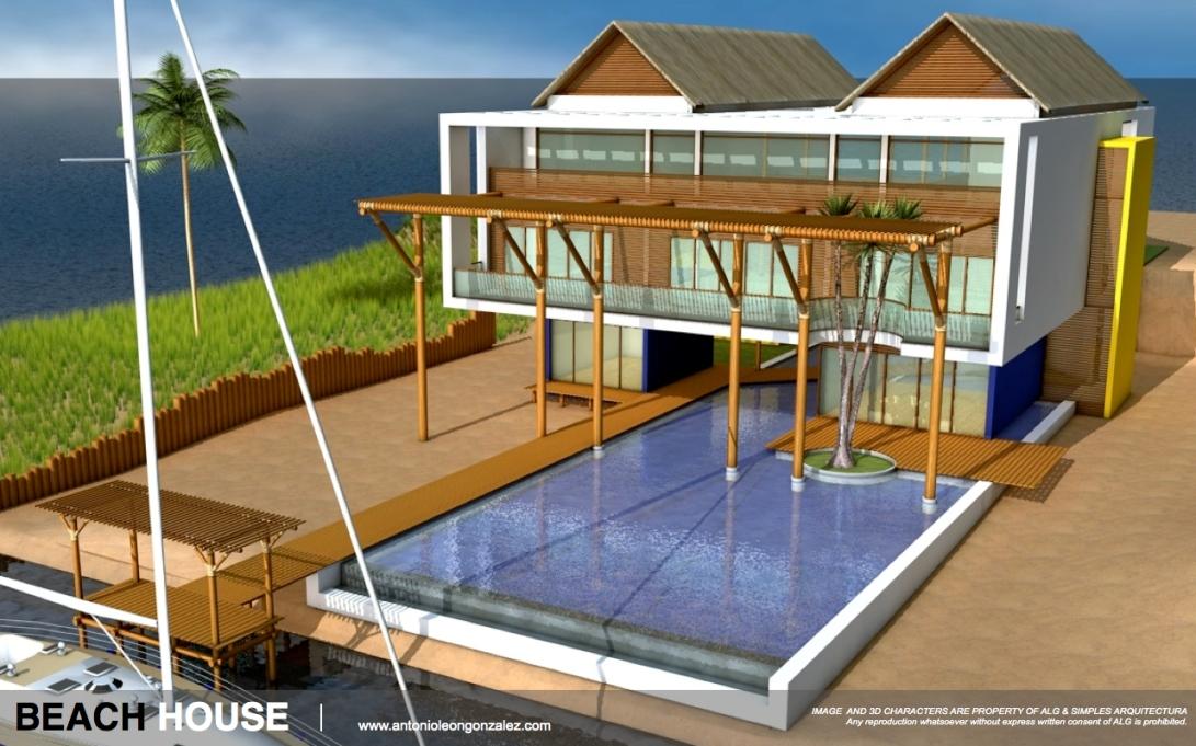 3D [CG WORK] HOUSE.004-001