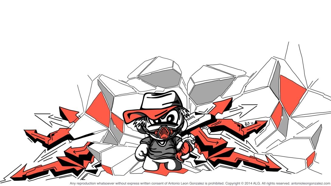 ALG - Street Grafitter Character! Main Shot v_2014!