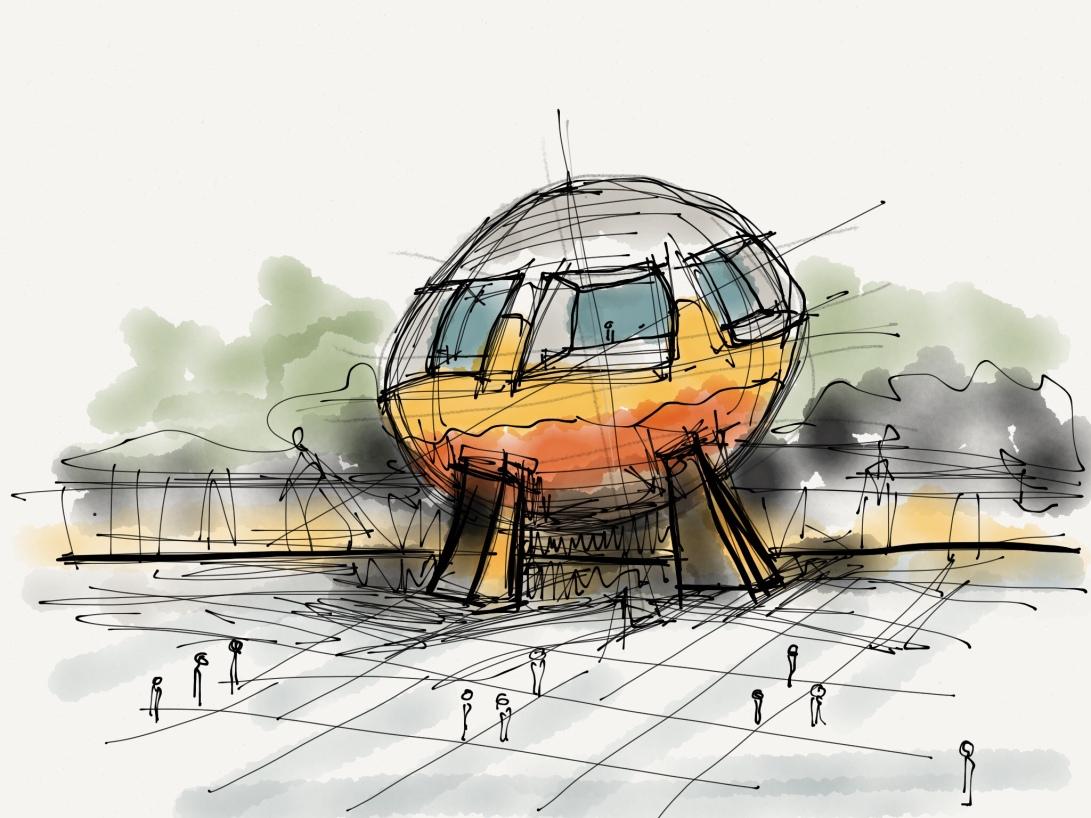 alg - antonio leon gonzalez - architecture concept sketches - 002