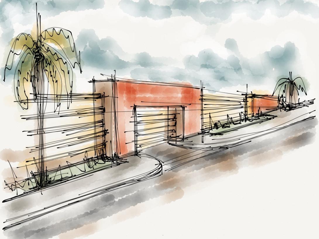 alg - antonio leon gonzalez - architecture concept sketches - 003