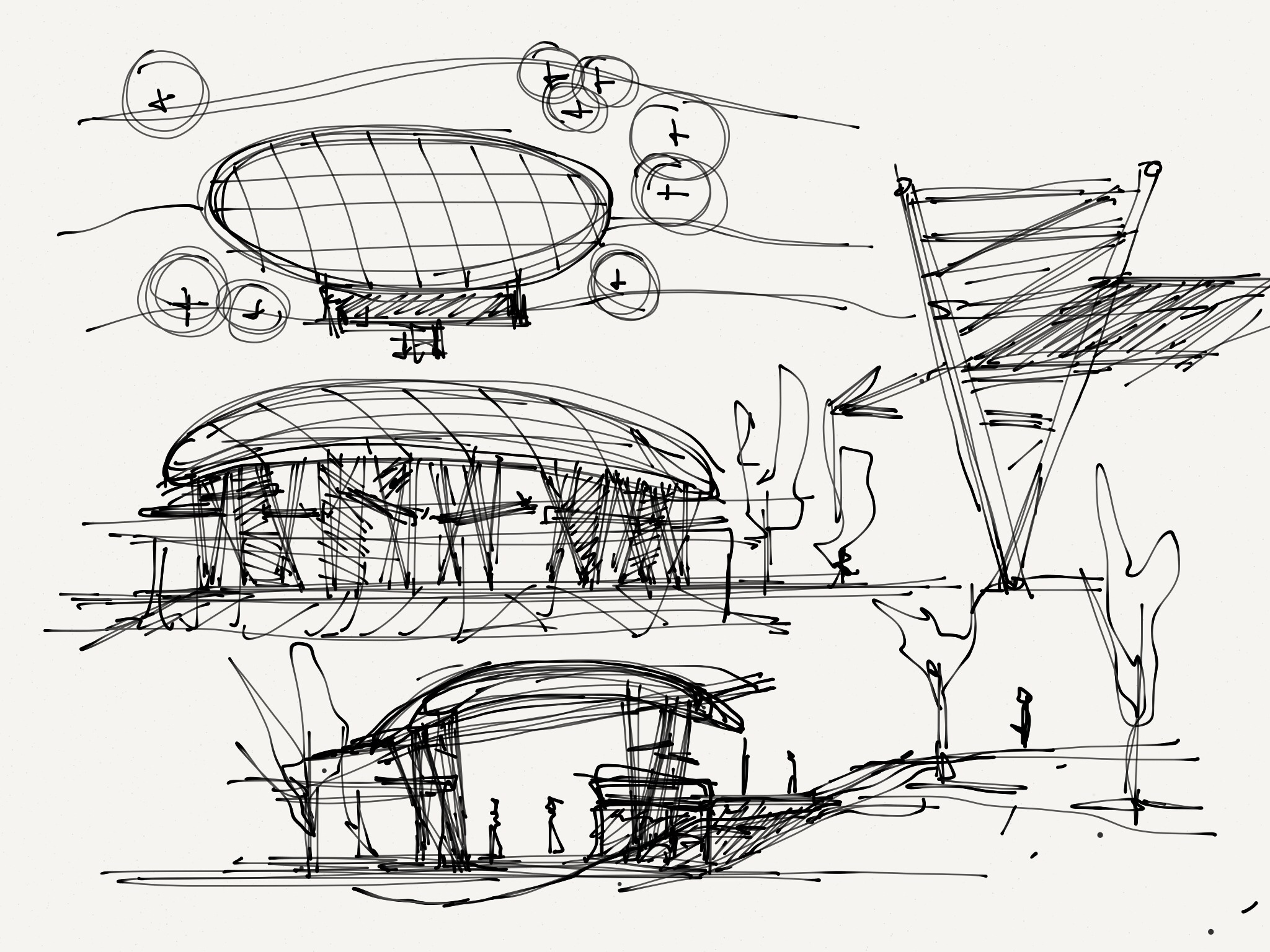 Alg miscellaneous architecture concept sketches for Modern architecture concept
