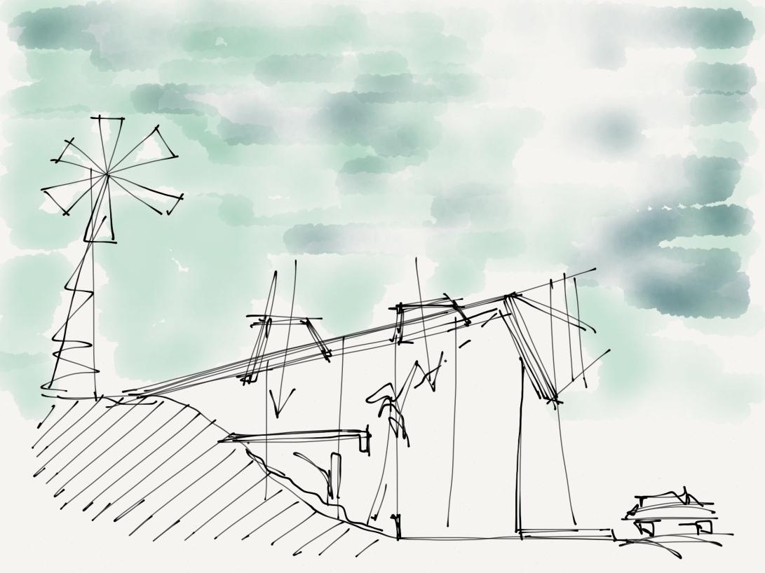 alg - antonio leon gonzalez - architecture concept sketches - 006