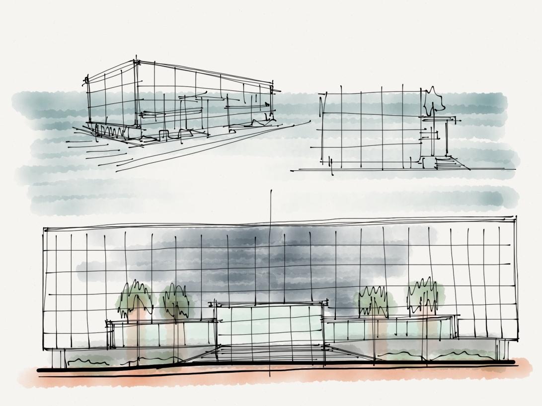 alg - antonio leon gonzalez - architecture concept sketches - 008