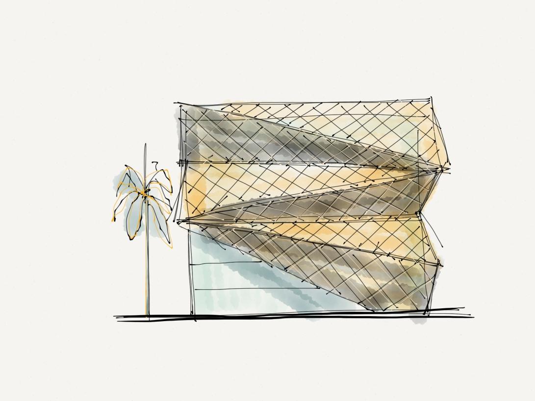 alg - antonio leon gonzalez - architecture concept sketches - 013