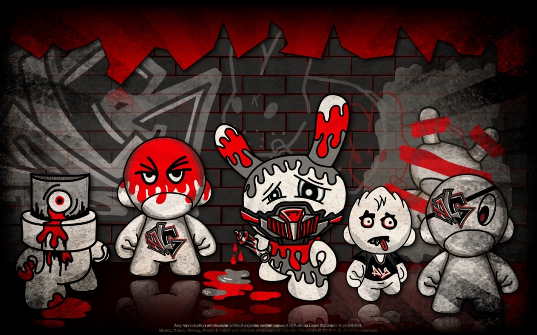 ALG GRAFFITERS RED CHARACTERS TEAM!